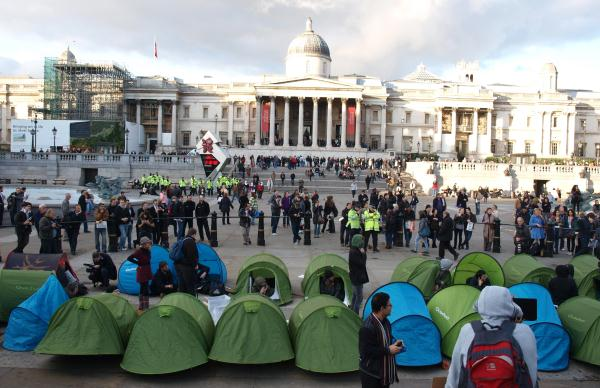 Occupy Tragalgar Square